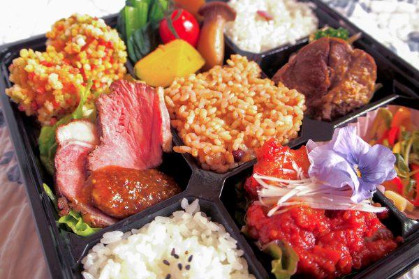 道産食材の彩り弁当