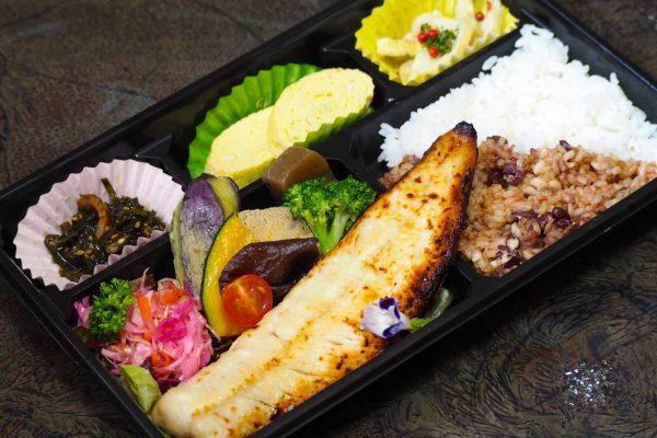 ②道産旬魚の無添加味噌漬け焼き弁当