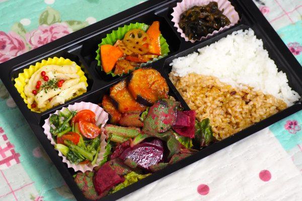 ㉒有機野菜のベジ弁当